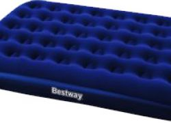 Nafukovacia posteľ BESTWAY Flocked Air Bed/Twin Plus